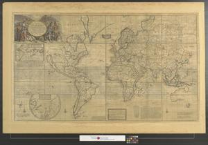 A new correct map of the whole world shewing ye situation of its thumbnail image of item number 1 in a new correct map of the gumiabroncs Image collections