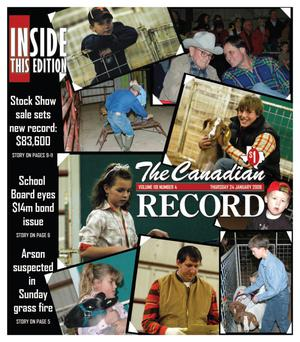 Primary view of object titled 'The Canadian Record (Canadian, Tex.), Vol. 118, No. 04, Ed. 1 Thursday, January 24, 2008'.