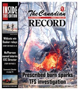 Primary view of object titled 'The Canadian Record (Canadian, Tex.), Vol. 118, No. 13, Ed. 1 Thursday, March 27, 2008'.