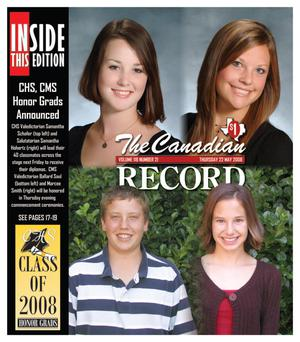 The Canadian Record (Canadian, Tex.), Vol. 118, No. 21, Ed. 1 Thursday, May 22, 2008