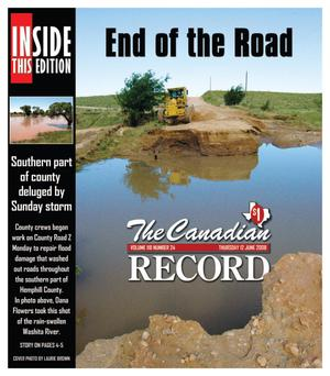 The Canadian Record (Canadian, Tex.), Vol. 118, No. 24, Ed. 1 Thursday, June 12, 2008