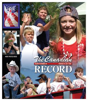 Primary view of object titled 'The Canadian Record (Canadian, Tex.), Vol. 118, No. 28, Ed. 1 Thursday, July 10, 2008'.