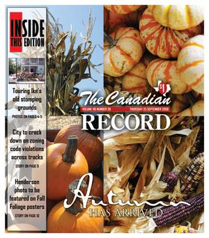 The Canadian Record (Canadian, Tex.), Vol. 118, No. 39, Ed. 1 Thursday, September 25, 2008