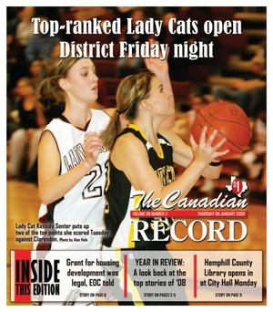 The Canadian Record (Canadian, Tex.), Vol. 119, No. 02, Ed. 1 Thursday, January 8, 2009