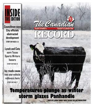 Primary view of object titled 'The Canadian Record (Canadian, Tex.), Vol. 119, No. 05, Ed. 1 Thursday, January 29, 2009'.