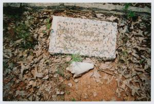 Primary view of object titled '[Headstone of Henry L. Price, Jr.]'.