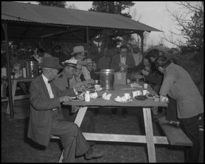 Primary view of object titled '[Sheriff Department Barbeque]'.