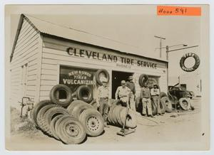 Primary view of object titled '[Cleveland Tire Service]'.