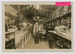 Primary view of object titled '[Clements Brothers Drug Store]'.
