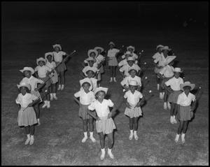 Primary view of object titled '[Cleveland Colored School Drill Team]'.