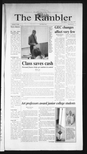 The Rambler (Fort Worth, Tex.), Vol. 95, No. 4, Ed. 1 Wednesday, February 15, 2006