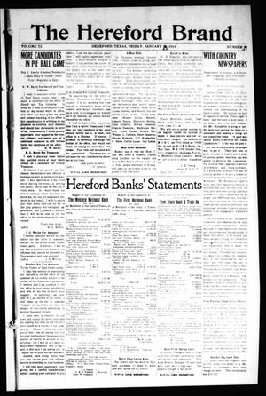 The Hereford Brand, Vol. 13, No. 51, Ed. 1 Friday, January 23, 1914