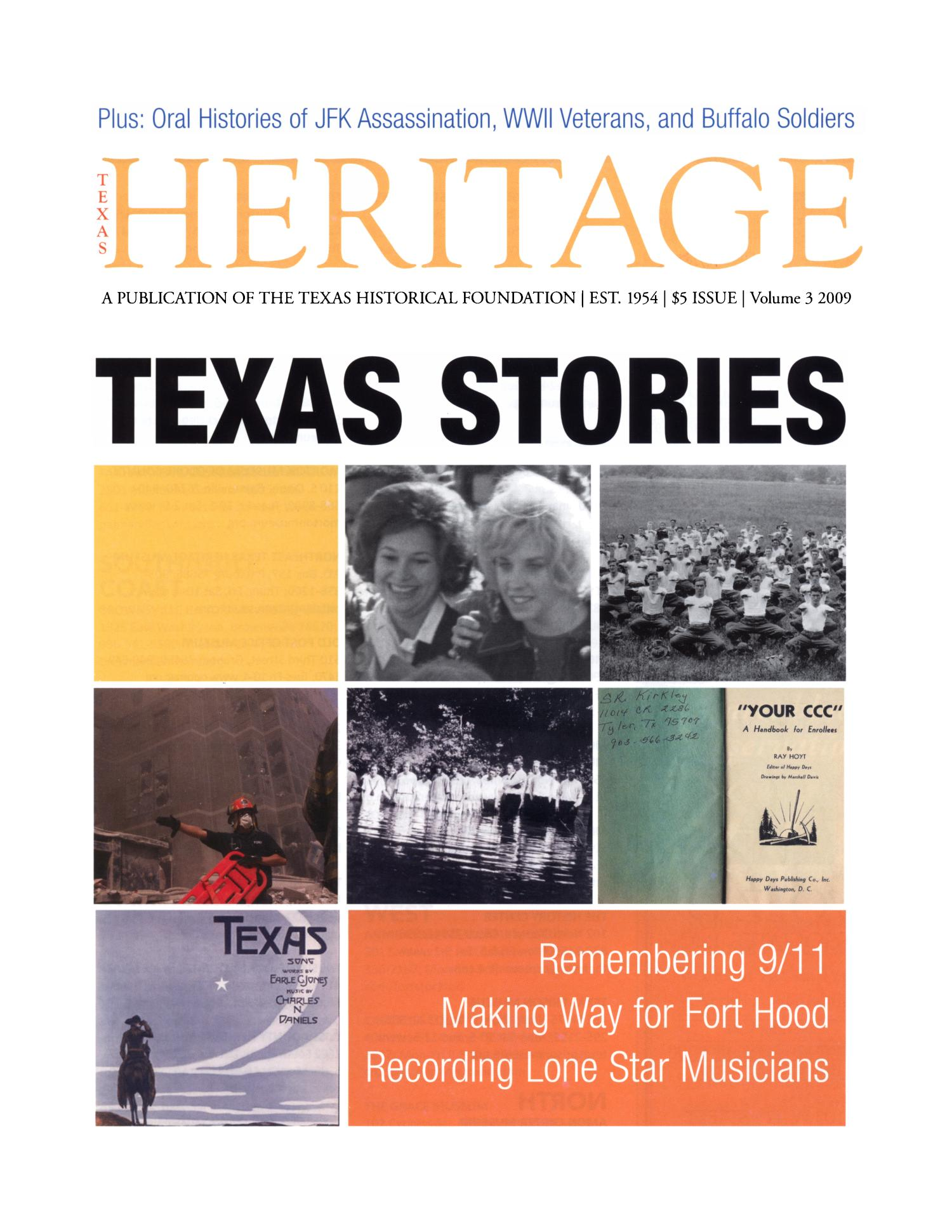 Heritage, 2009, Volume 3                                                                                                      Front Cover