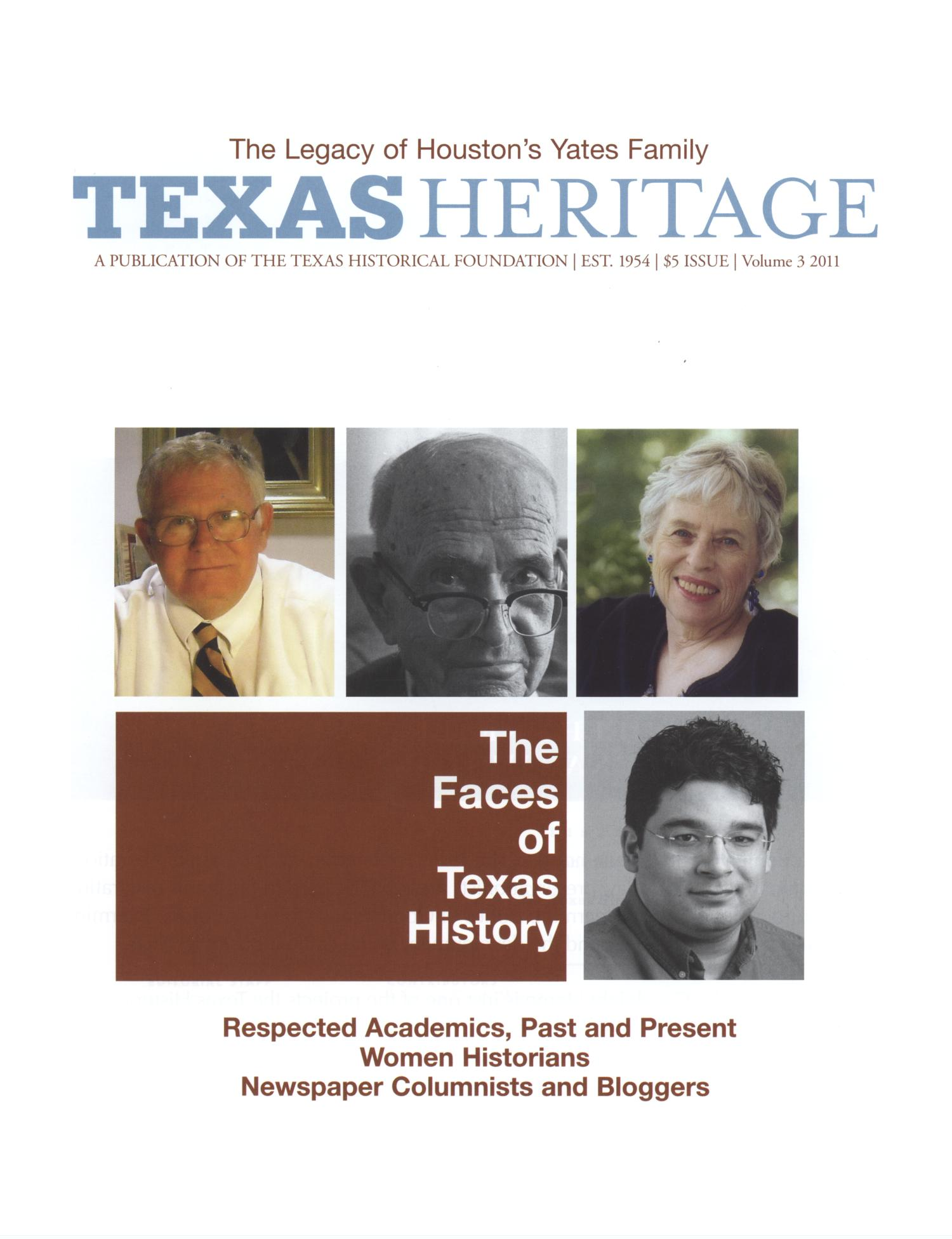 Heritage, 2011, Volume 3                                                                                                      Front Cover