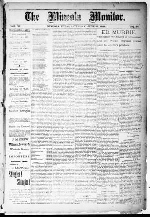 The Mineola Monitor (Mineola, Tex.), Vol. 11, No. 39, Ed. 1 Saturday, June 23, 1888