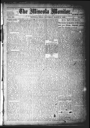Primary view of object titled 'The Mineola Monitor (Mineola, Tex.), Vol. 12, No. 23, Ed. 1 Saturday, March 9, 1889'.