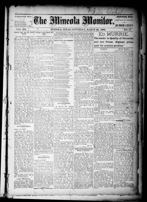 The Mineola Monitor (Mineola, Tex.), Vol. 12, No. 25, Ed. 1 Saturday, March 23, 1889