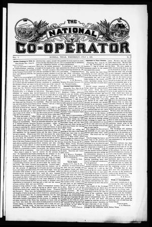 The National Co-Operator (Mineola, Tex.), Vol. 1, No. 27, Ed. 1 Wednesday, July 5, 1905