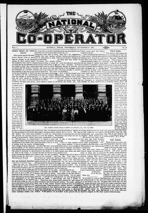 Primary view of object titled 'The National Co-Operator (Mineola, Tex.), Vol. 1, No. 47, Ed. 1 Wednesday, November 29, 1905'.