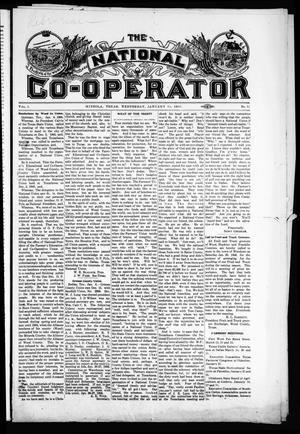 Primary view of object titled 'The National Co-Operator (Mineola, Tex.), Vol. 1, No. 52, Ed. 1 Wednesday, January 10, 1906'.