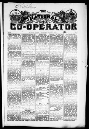 Primary view of object titled 'The National Co-Operator (Mineola, Tex.), Vol. 2, No. 8, Ed. 1 Wednesday, March 7, 1906'.