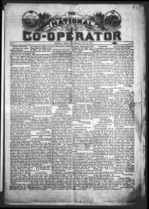 The National Co-Operator (Mineola, Tex.), Vol. 2, No. 29, Ed. 1 Wednesday, July 25, 1906