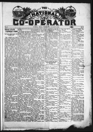 Primary view of object titled 'The National Co-Operator (Mineola, Tex.), Vol. 2, No. 32, Ed. 1 Wednesday, August 15, 1906'.