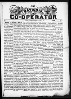 The National Co-Operator (Mineola, Tex.), Vol. 2, No. 33, Ed. 1 Wednesday, August 22, 1906