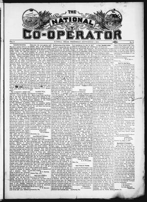 Primary view of object titled 'The National Co-Operator (Mineola, Tex.), Vol. 2, No. 35, Ed. 1 Wednesday, September 5, 1906'.