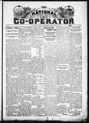 Primary view of object titled 'The National Co-Operator (Mineola, Tex.), Vol. 2, No. 36, Ed. 1 Wednesday, September 12, 1906'.