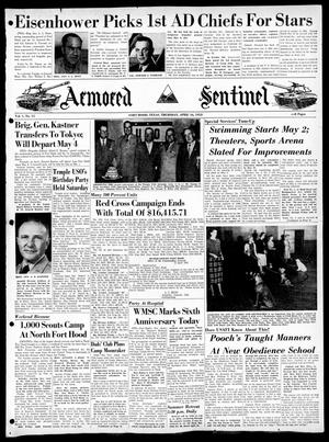 Armored Sentinel (Temple, Tex.), Vol. 1, No. 15, Ed. 1 Thursday, April 16, 1953
