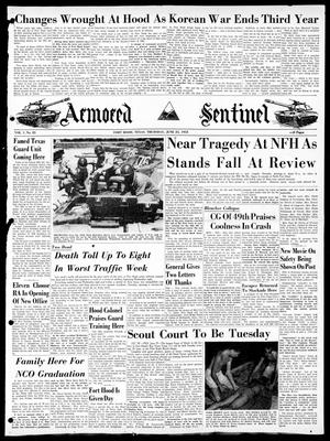 Armored Sentinel (Temple, Tex.), Vol. 1, No. 25, Ed. 1 Thursday, June 25, 1953
