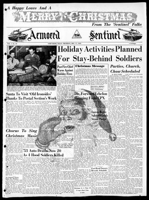 Armored Sentinel (Temple, Tex.), Vol. 1, No. 49, Ed. 1 Thursday, December 17, 1953