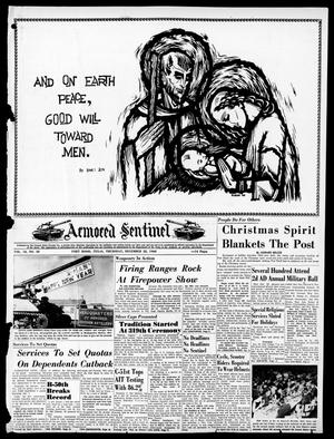 Armored Sentinel (Temple, Tex.), Vol. 18, No. 38, Ed. 1 Thursday, December 22, 1960