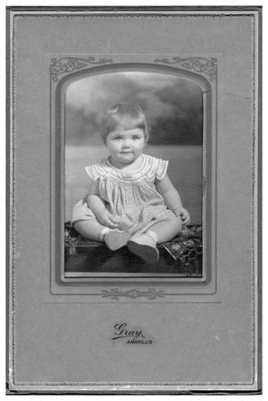 Primary view of object titled '[Portrait of unidentified toddler]'.