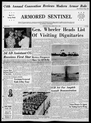 Armored Sentinel (Temple, Tex.), Vol. 21, No. 4, Ed. 1 Friday, May 3, 1963