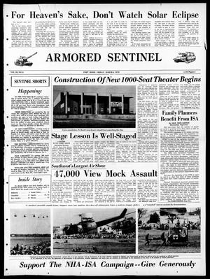 Armored Sentinel (Temple, Tex.), Vol. 28, No. 8, Ed. 1 Friday, March 6, 1970