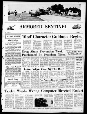 Armored Sentinel (Temple, Tex.), Vol. 29, No. 20, Ed. 1 Thursday, May 28, 1970