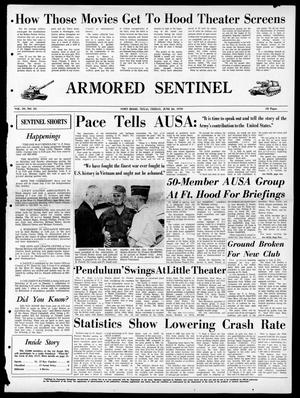 Armored Sentinel (Temple, Tex.), Vol. 29, No. 24, Ed. 1 Friday, June 26, 1970