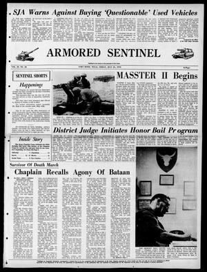 Armored Sentinel (Temple, Tex.), Vol. 29, No. 28, Ed. 1 Friday, July 24, 1970