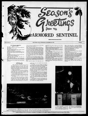 Armored Sentinel (Temple, Tex.), Vol. 29, No. 49, Ed. 1 Friday, December 25, 1970