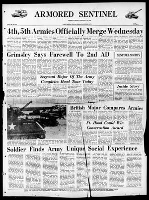 Armored Sentinel (Temple, Tex.), Vol. 30, No. 23, Ed. 1 Friday, June 25, 1971