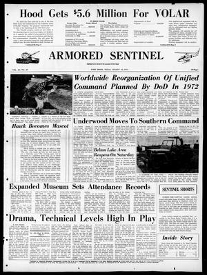 Armored Sentinel (Temple, Tex.), Vol. 30, No. 29, Ed. 1 Friday, August 13, 1971