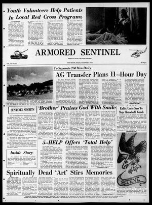 Armored Sentinel (Temple, Tex.), Vol. 30, No. 31, Ed. 1 Friday, August 27, 1971