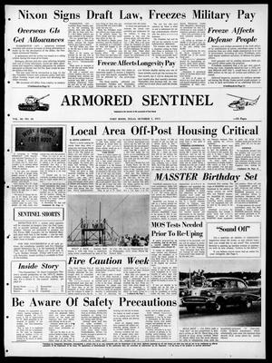 Armored Sentinel (Temple, Tex.), Vol. 30, No. 36, Ed. 1 Friday, October 1, 1971
