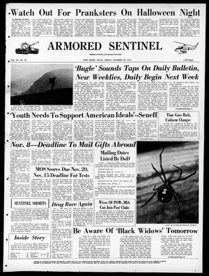 Armored Sentinel (Temple, Tex.), Vol. 30, No. 40, Ed. 1 Friday, October 29, 1971