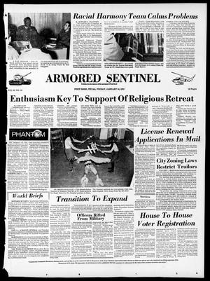 Armored Sentinel (Temple, Tex.), Vol. 30, No. 50, Ed. 1 Friday, January 14, 1972