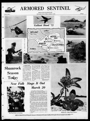 Armored Sentinel (Temple, Tex.), Vol. 31, No. 5, Ed. 1 Friday, March 17, 1972