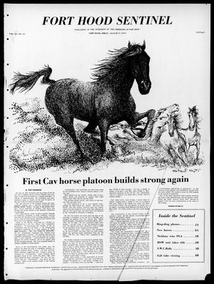 Fort Hood Sentinel (Temple, Tex.), Vol. 32, No. 24, Ed. 1 Friday, August 17, 1973
