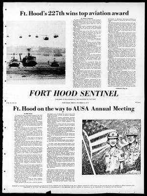 Primary view of object titled 'Fort Hood Sentinel (Temple, Tex.), Vol. 32, No. 32, Ed. 1 Friday, October 12, 1973'.